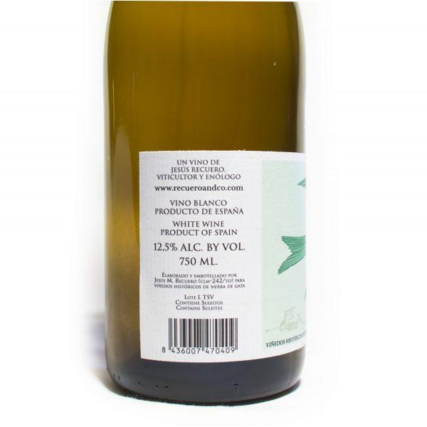 Trasantier Verdejo Serrana. Vino blanco de la Sierra de Gata